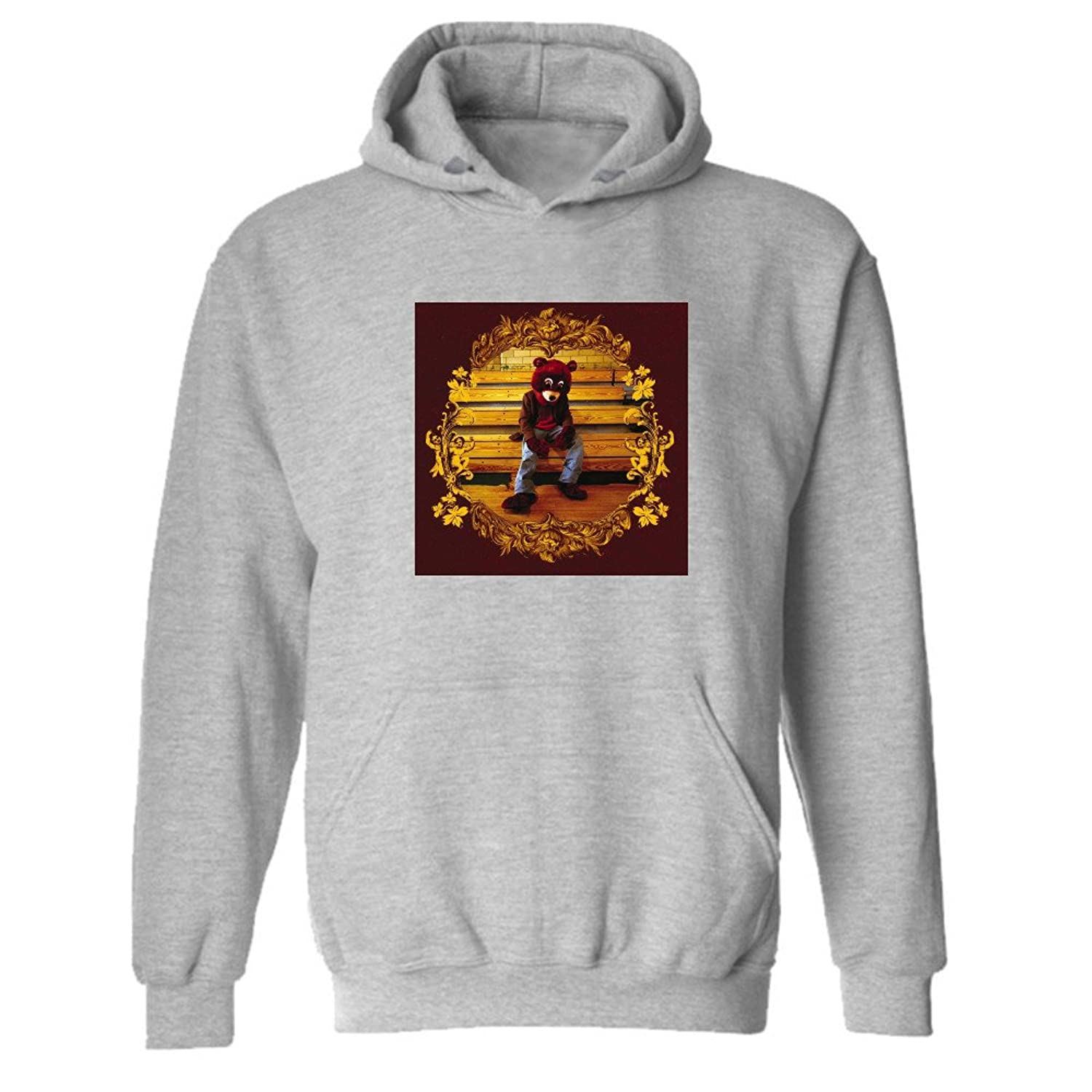 Best Kanye West The College Dropout Hoodie Yeezus Hip Hop Sweatshirt