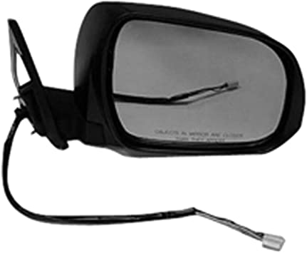 Partslink Number TO1321211 OE Replacement Toyota Highlander//Hybrid Passenger Side Mirror Outside Rear View