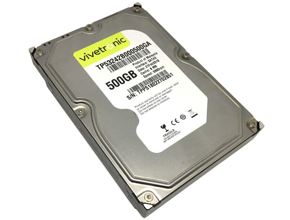 Generic 500GB 8MB Cache 5900RPM SATA 3Gb/s 3.5'' Internal Desktop Hard Drive (Certified Refurbished)