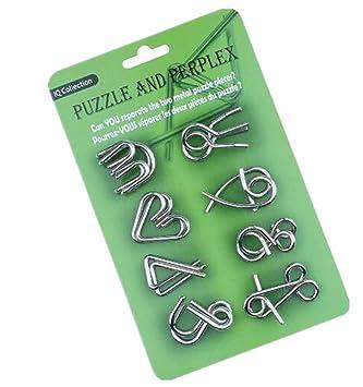 Amazon.com: Qiu Ping Juego de 9 cadenas de juguete para ...