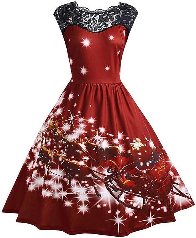 CLOOM Vestidos Largos Elegantes Sexy Encajes Patchwork Falda ...