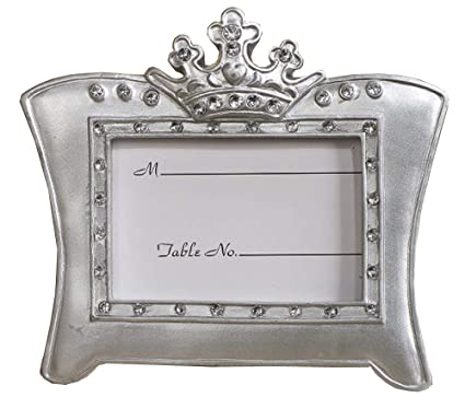 Amazon.com: Queen For A Day Sparkling Tiara Picture Frame Favors ...