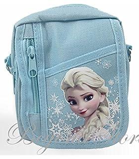 Disney Frozen Baby Blue Camera Bag Case Red Bag Handbag by Beyondstore