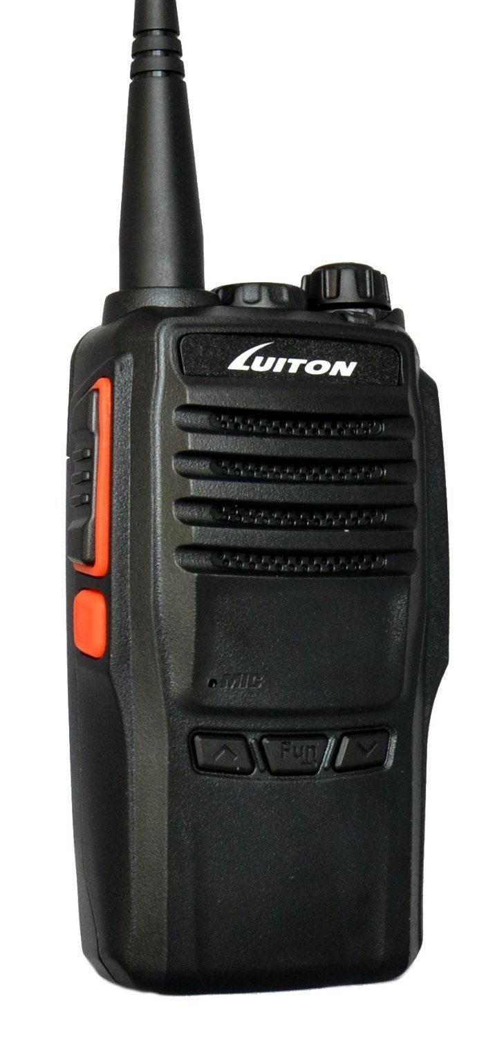 Two-Way Radios For Car Rechargeable Long Range Outdoor Hiking Hunting 16CH Handheld Two Way Radio with Rechargeable Battery 10W Hunting Amerteur Walkie Talkie VHF 136-174MHz Luiton LT-188H