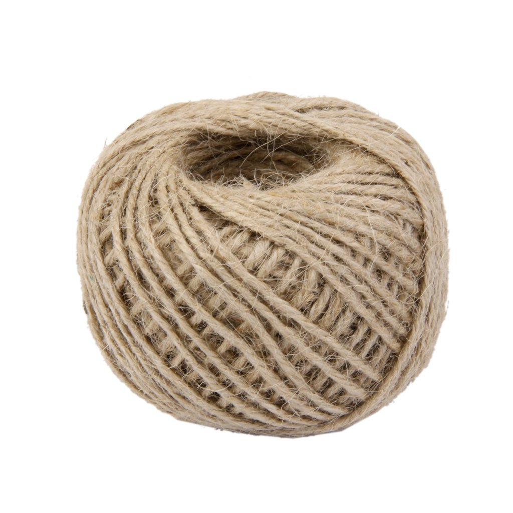Ricisung 50m Wrap Cadeau ruban de corde de chanvre Ficelle Corde Cordon Corde Boule Générique FMISSACGHJH774