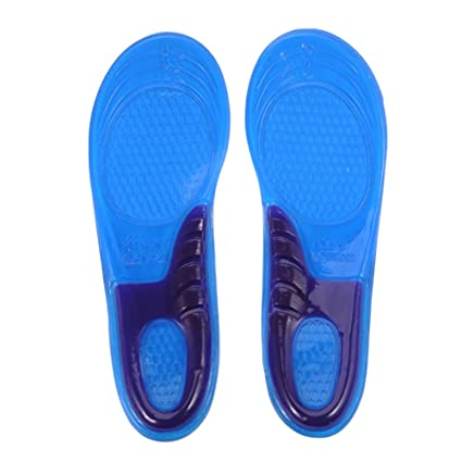 best loved a3bde cae38 Orthotic Insoles Full Length With Arch Supports Gel Heel Pad For Plantar  Fasciitis Flat Feet Pronation