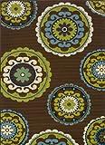 Caspian Outdoor Rug 859D 3ft 7in x 5ft 6in For Sale