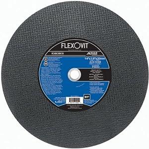 Flexovit F5653 14 X 1/8 X 20Mm Metal Saw Cut-Off Wheel Type 1 (10 Pack)