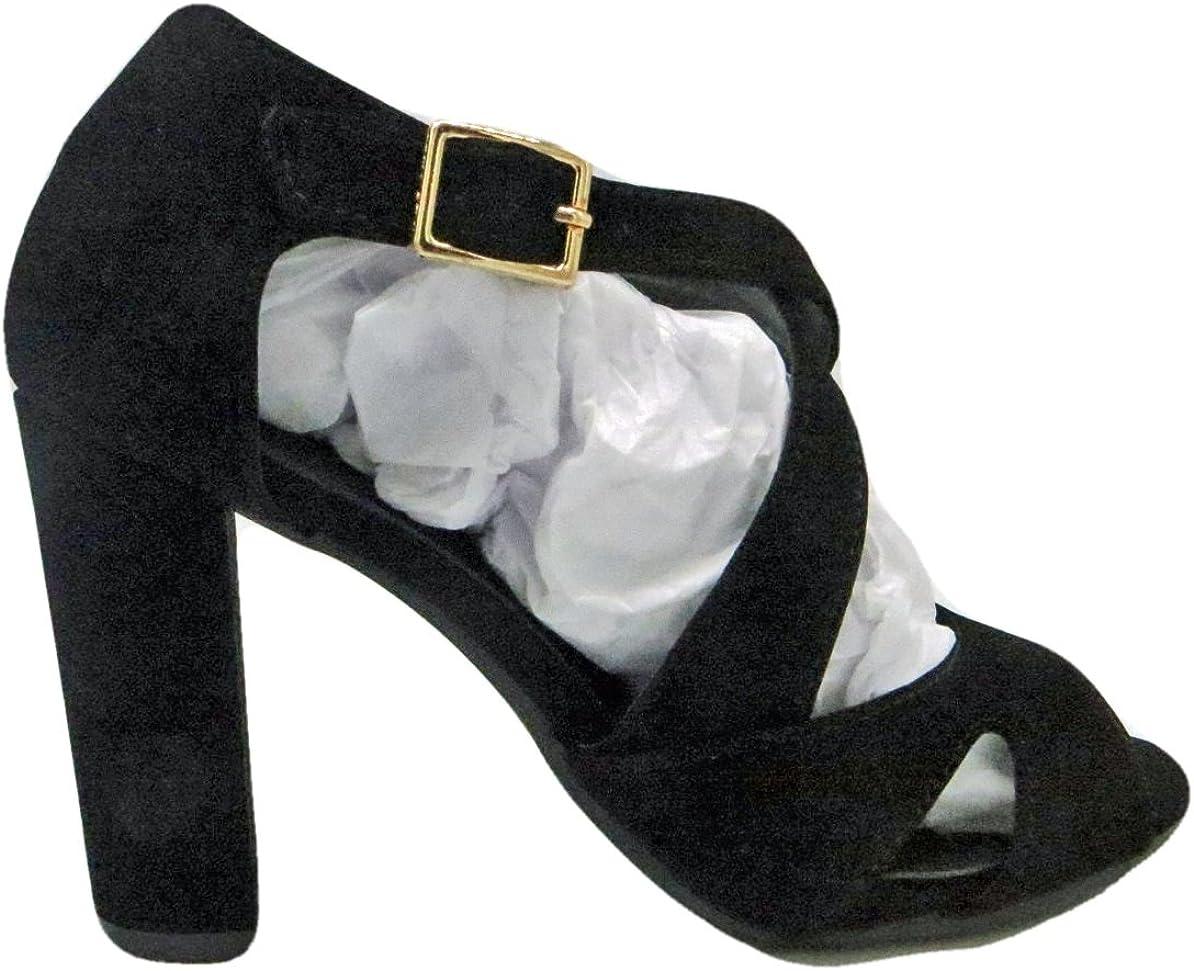 Top Moda Amanda-6 Womens Ankle Strap Chunky High Heel Sandals