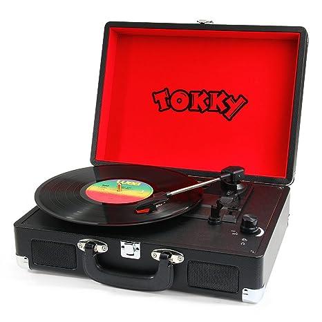 Tokky Vintage tocadiscos registro expedientes de la ...