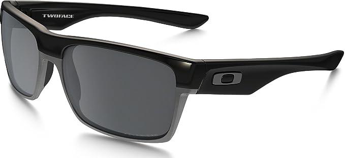 oakley twoface sunglasses polished black black iridium one size at rh amazon com