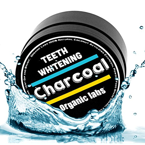 Activated Charcoal Toothpaste Teeth Whitening Powder - ORGANIC LABS®