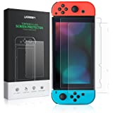 UGREEN Switch Screen Protector for Nintendo Switch Tempered Glass 2 Pack Screen Saver Protector Film with Transparent HD Clear Anti-Scratch