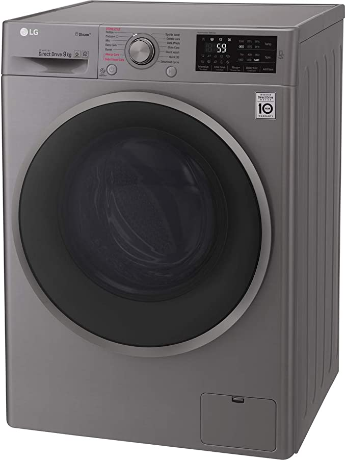 LG F4J609WS Rated Freestanding Washing Machine - White [Energy Class A+++]