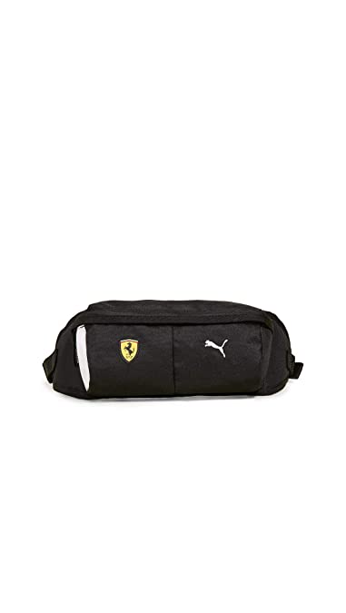 129b48fc2d Amazon.com: PUMA Men's Scuderia Ferrari Fanwear Waist Bag, Black ...