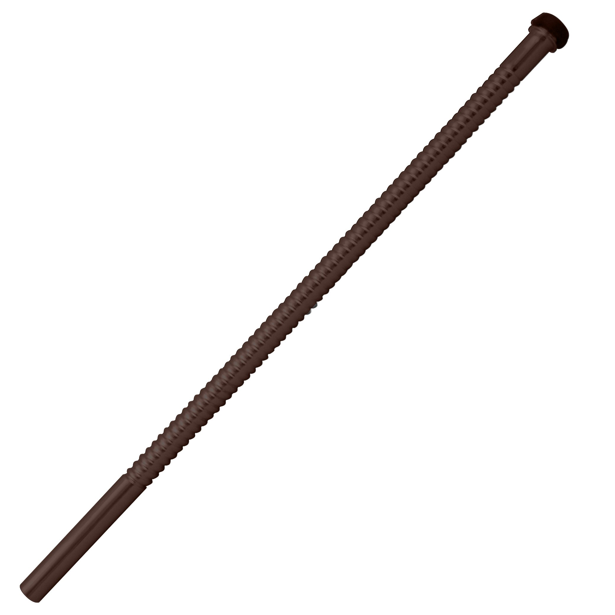 Westbrass 1/2'' x 15'' Corrugated Riser for Faucet and Toilet, Oil Rubbed Bronze, D117-12