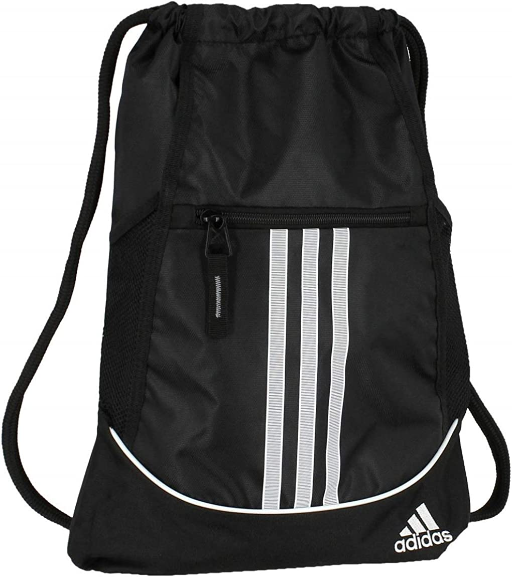 adidas Unisex Alliance II Sackpack, Black, ONE SIZE: Clothing