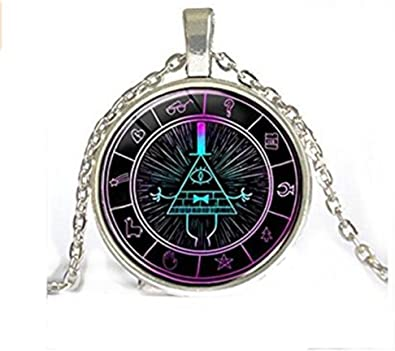 /« Psychadelic /» inspir/é de Bill Cipher Bijoux Cadeau pour homme et femme design /à la main par Gravity Falls Porte-cl/és gravity Falls Bill Cipher Wheel Scrabble