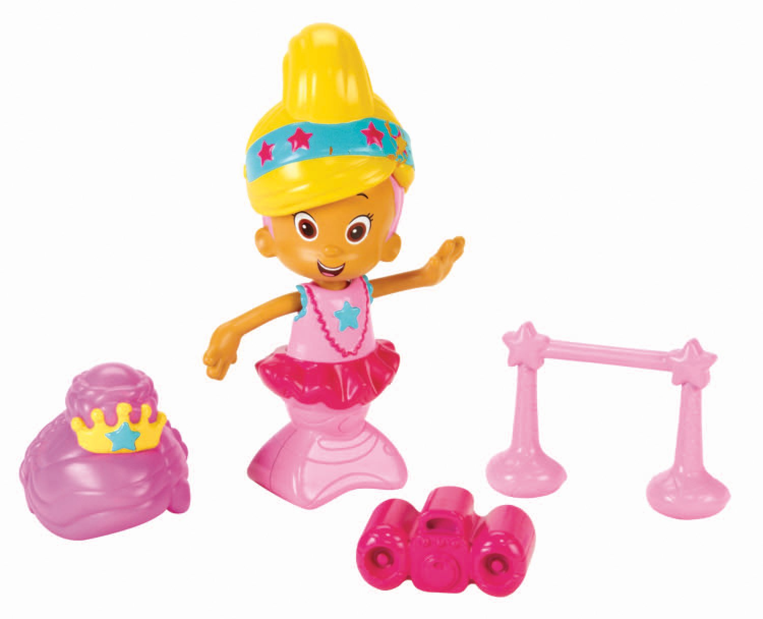 Amazon.com: Fisher Price Bubble Guppies Snap And Dress Ballerina Set: Toys  U0026 Games