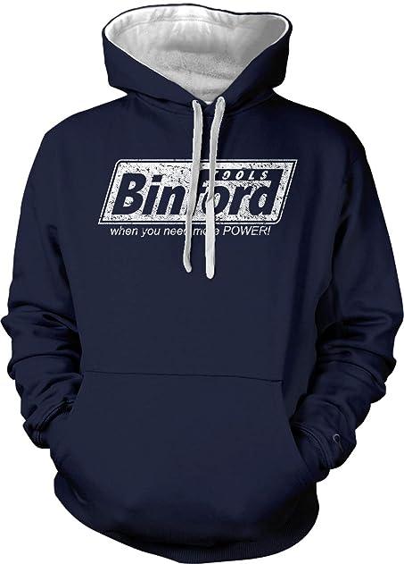 Binford Tools Adult Two Tone Hoodie Sweatshirt