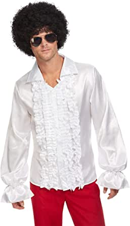 Smiffys Smiffys 60s Ruffled Shirt Smiffys 60s camisa con ...