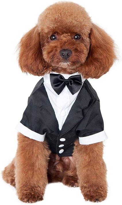 Camisa De Boda para Mascotas De Cachorro/Esmoquin Formal con ...