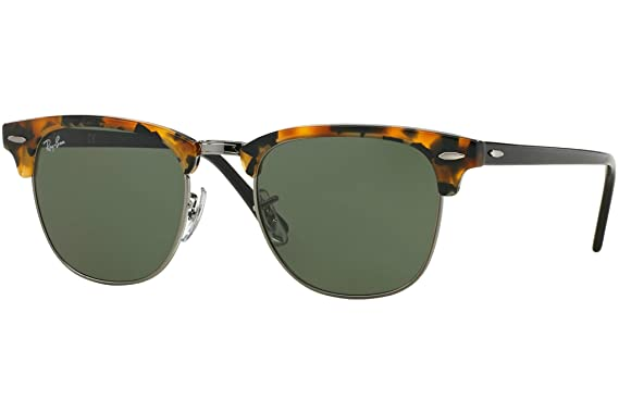 95df761aee781 Ray-Ban Black Havana Clubmaster RB 3016 1157 51mm + SD Glasses + Cleaning  Kit  Amazon.co.uk  Clothing