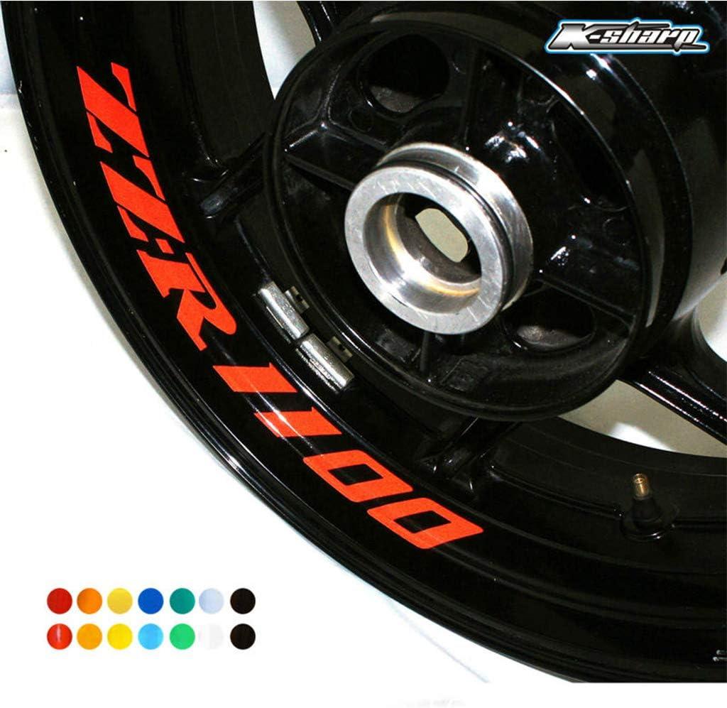 psler Moto Roues Jantes Int/érieur Autocollant pour Kawasaki ZX-10R