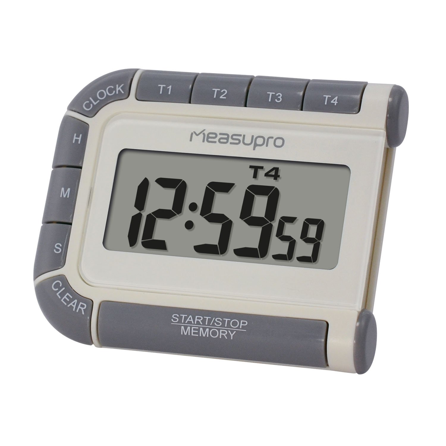 measupro cct400 digital timer clock and stopwatch with four