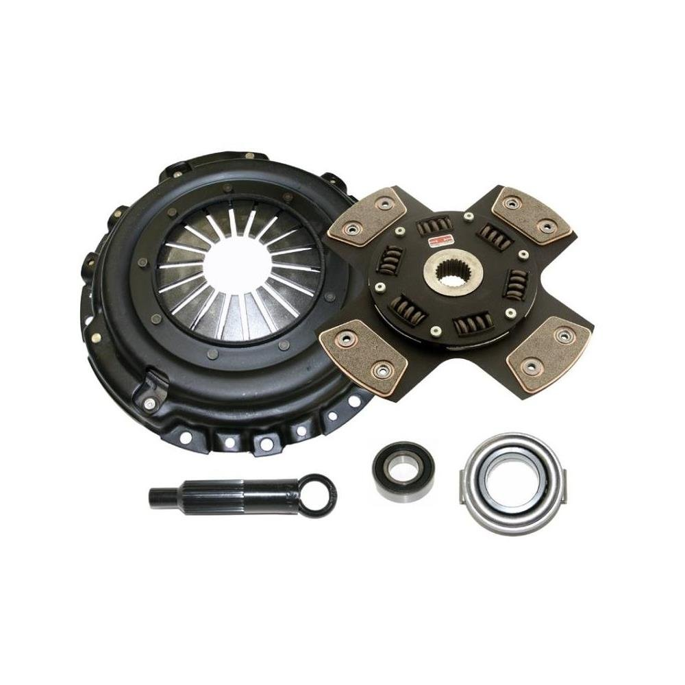 Comp Clutch 1991-1998 Nissan 240SX Stage 5 - 4 Pad Ceramic Clutch Kit (6054-1420) by Competition Clutch