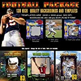 FOOTBALL Sports Digital Backgrounds Backdrops and PSD Templates Great Collection