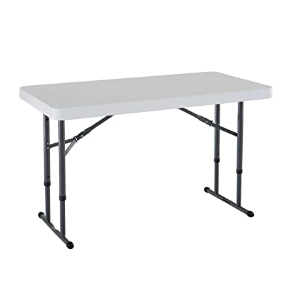 Amazon.com: Mesa plegable Lifetime 80161 comercial de altura ...
