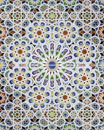 Marokkanische fliesen  Mattullah - Bemalte Marokkanische Fliesen: Amazon.de: Baumarkt