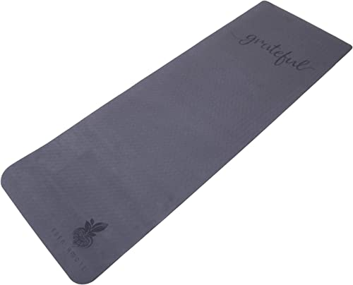 Eden Amore Three Sizes, Thick, Non-Slip, ECO Friendly, TPE,Yoga mat, Fitness mat with Motivational Words.