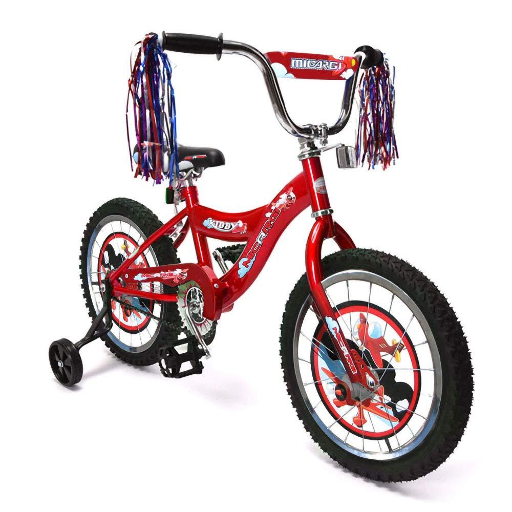 ChromeWheels Boys and Girls Bike, 12-14-16 Kid s Bicycle for 2-6 Years Old, EVA Tires, Training Wheels with Coaster Brake