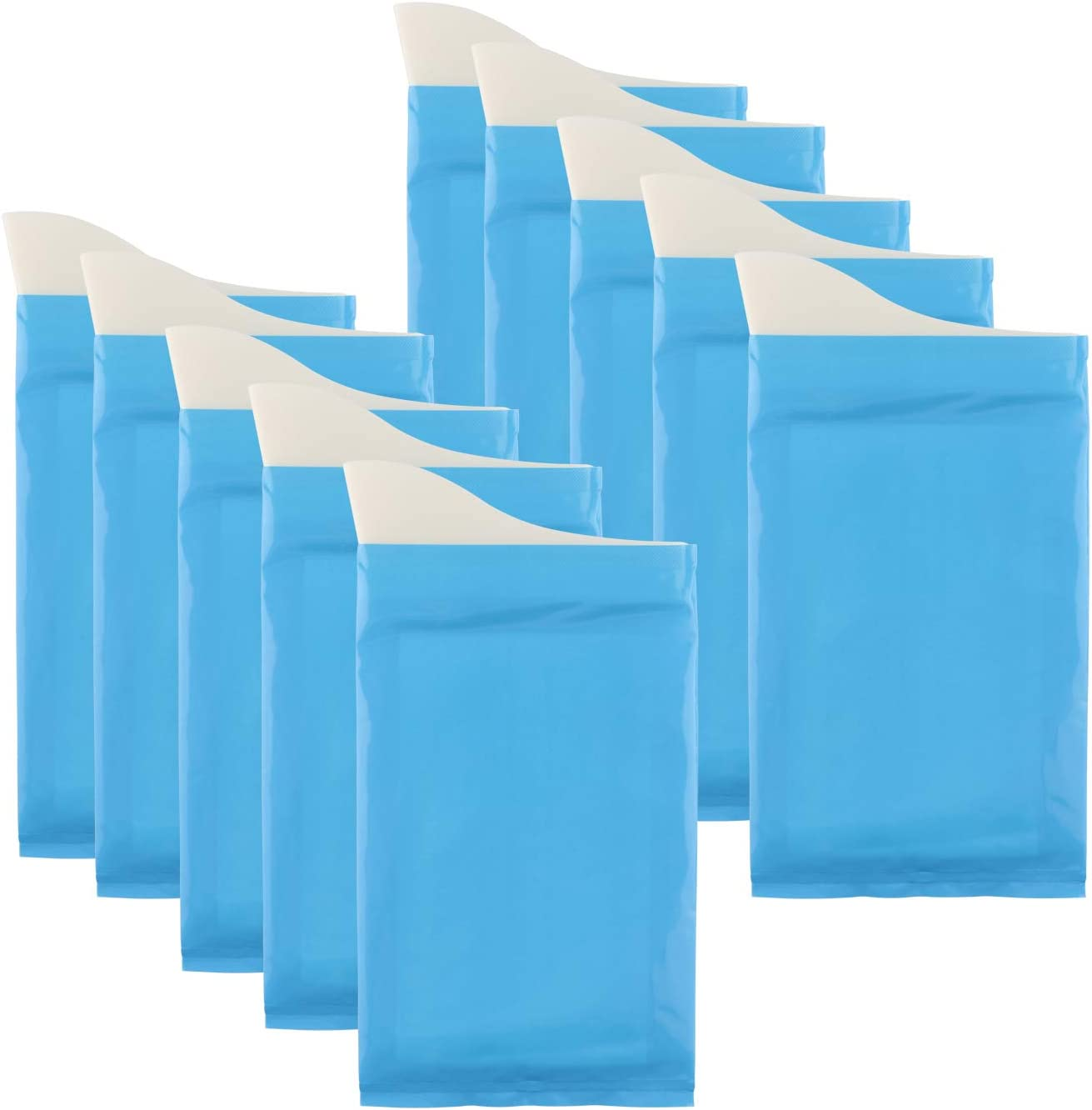 Details about  /Portable 5.3/'/'x12.4/'/' Pee Bags Large Capacity Emergency Pee Bags for Women Men
