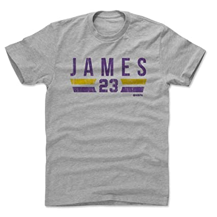 Amazon Com 500 Level Lebron James Shirt Los Angeles Basketball