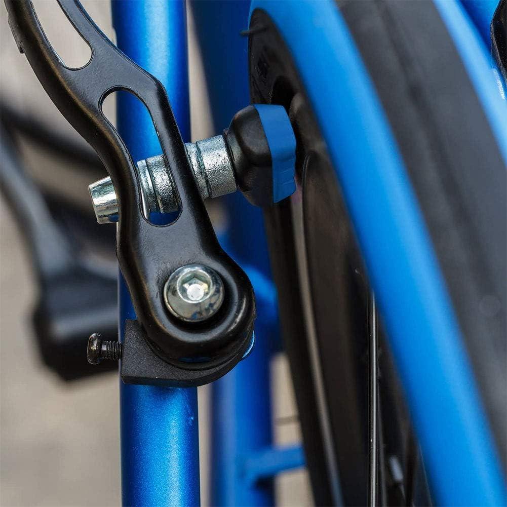 Tektro SRAM Adapt/é pour V-Brakes de Shimano 4 Paire 70mm Symmetric Patin de Frein Durable avec Noix Hex Avid KKTICK V-Brake Patins Bleu XLC etc