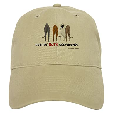 126e229c CafePress - Nothin' Butt Greyhounds - Baseball Cap with Adjustable Closure,  Unique Printed Baseball