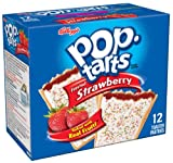 Pop-Tarts, Frosted Strawberry,12 count (Pack of 12)