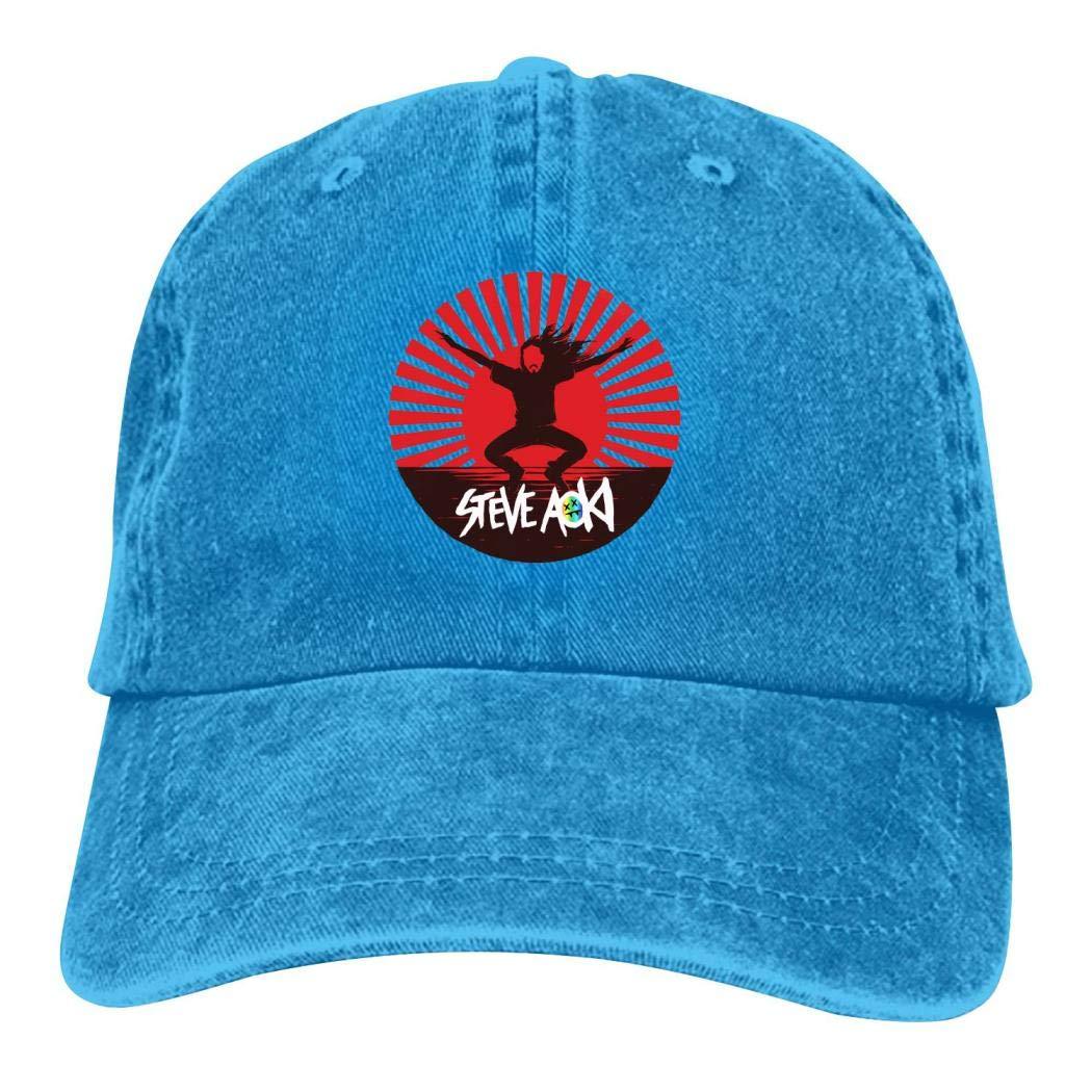 DJ-Aoki-Steve Gorras de béisbol Rock Dad Sombrero Algodón Puro ...
