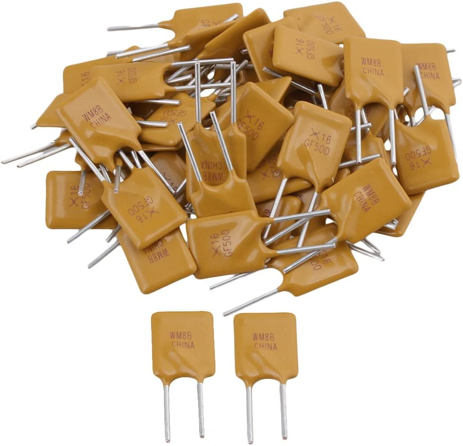 50Pcs 500MA//6V MT SMD Resettable Fuse PPTC PolySwitch Self-Recovery Fuses  N FHH