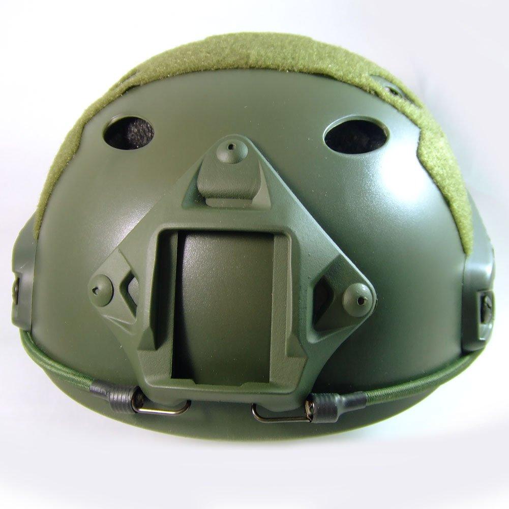 Tactique SWAT style militaire de larm/ée de Combat rapide PJ Casque OD vert pour CQB Tir Airsoft Paintball
