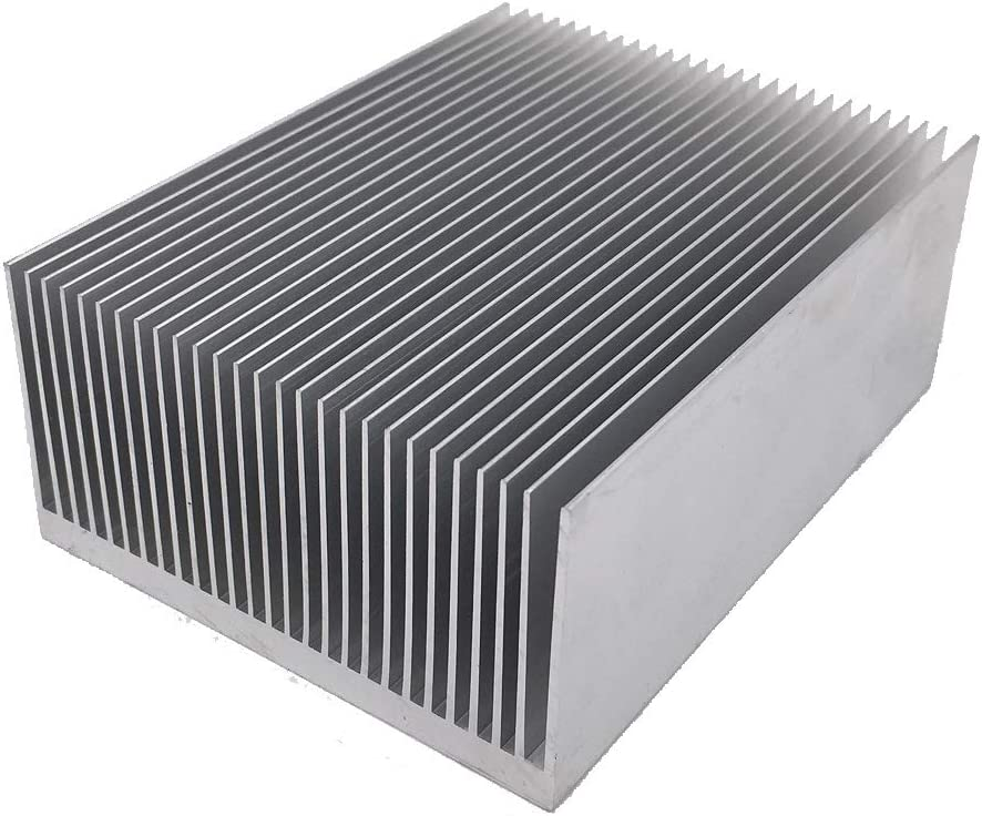 "Awxlumv Large Aluminum Heatsink 4.72"" x2.71"" x 1.41"" / 120 x 69 x 36mm Heat Sinks Cooling 27 Fin Radiator for IC Module, PC Computer, Led, PCB"
