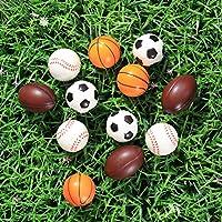 LIOOBO Mini bolas antiestrés de 6,3 cm, espuma para alivio de ...