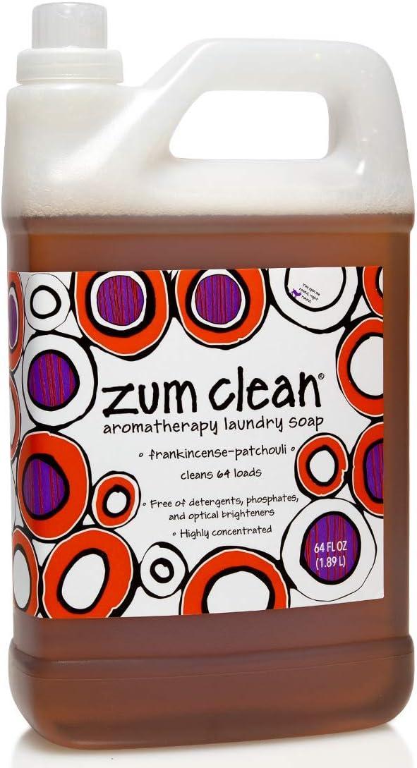Indigo Wild Zum Clean Aromatherapy Laundry Soap - Frankincense-Patchouli - 64 oz