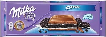 Amazon.com : Milka Chocolate Oreo, Large Bar 300g (Oreo) : Grocery ...