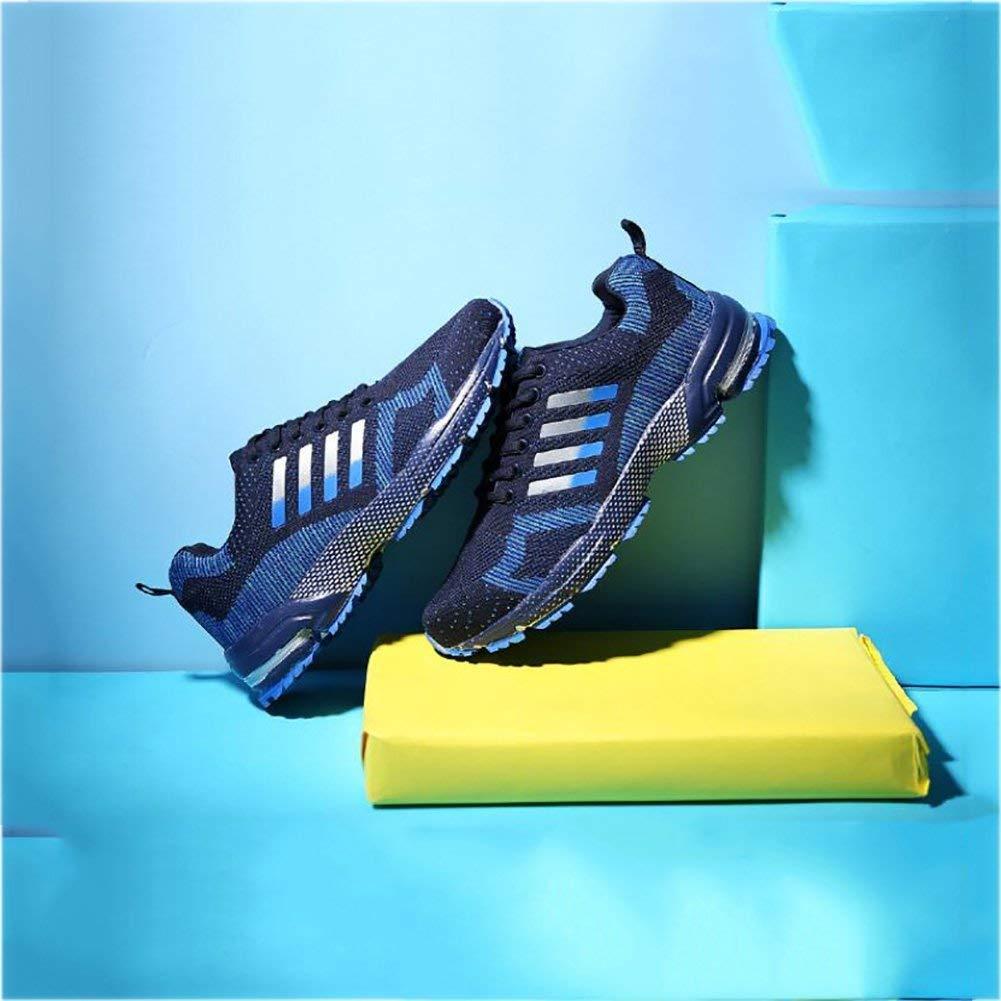 FuweiEncore Mens Trainer, Casual Sport Laufschuhe, Leichte Breathable Turnschuhe, Paar Paar Paar Laufschuhe,Blau,45 (Farbe   Wie Gezeigt, Größe   Einheitsgröße) e91d94