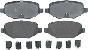 ACDelco Gold 17D1377CH Ceramic Rear Disc Brake Pad Set