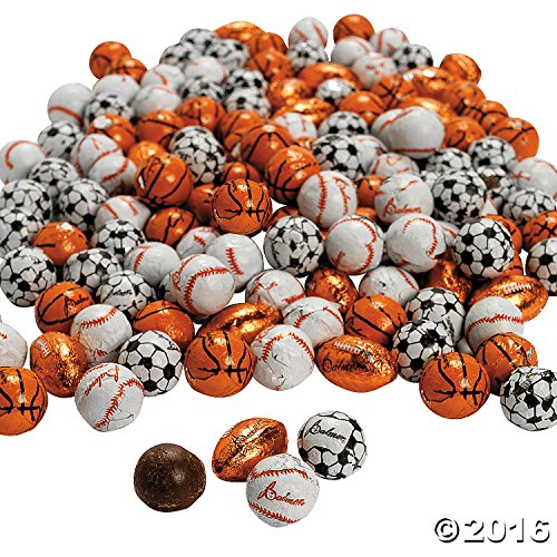 Palmer® Super Sports Chocolate Balls 2 lb (Chocolate Sports Balls)